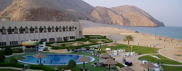 Отель Golden Tulip Resort Dibba 4*